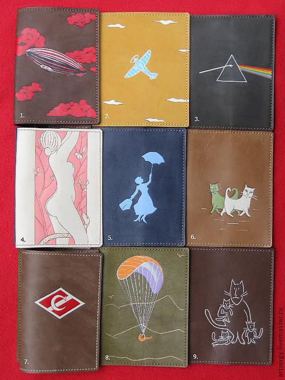 "54 обложки на паспорт "" Коты и Другие"", Organizer, Moscow,  Фото №1"