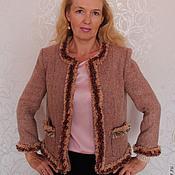 Одежда handmade. Livemaster - original item Jacket bouclé Marseille. Handmade.