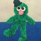 """Куклы и игрушки ручной работы. Ярмарка Мастеров - ручная работа Вязаная игрушка """"Пушистый Чудик"""". Handmade."""