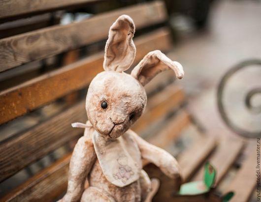 Мишки Тедди ручной работы. Ярмарка Мастеров - ручная работа. Купить Кроль Матвей. Handmade. Бежевый, тедди зайка