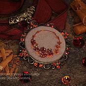 Украшения handmade. Livemaster - original item Pendant Leaves of autumn. Handmade.