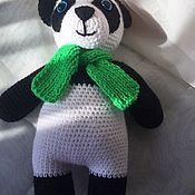 Мягкие игрушки ручной работы. Ярмарка Мастеров - ручная работа Игрушки:медвежонок панда. Handmade.