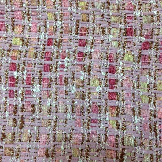 Шитье ручной работы. Ярмарка Мастеров - ручная работа. Купить Шанелино. Италия. Handmade. Розовый, ткань с рисунком, пиджак, котон