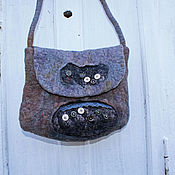 Сумки и аксессуары handmade. Livemaster - original item Felted bag