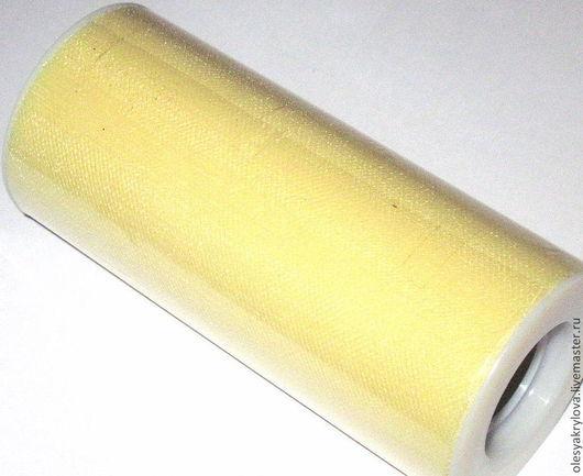 нейлоновый фатин светло-желтый
