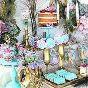 Свадебный салон ручной работы. Ярмарка Мастеров - ручная работа Сладкий стол Павлины. Handmade.