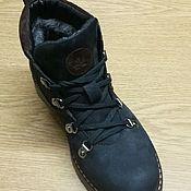 Обувь ручной работы. Ярмарка Мастеров - ручная работа Ботинки женские на натуральном меху. Handmade.