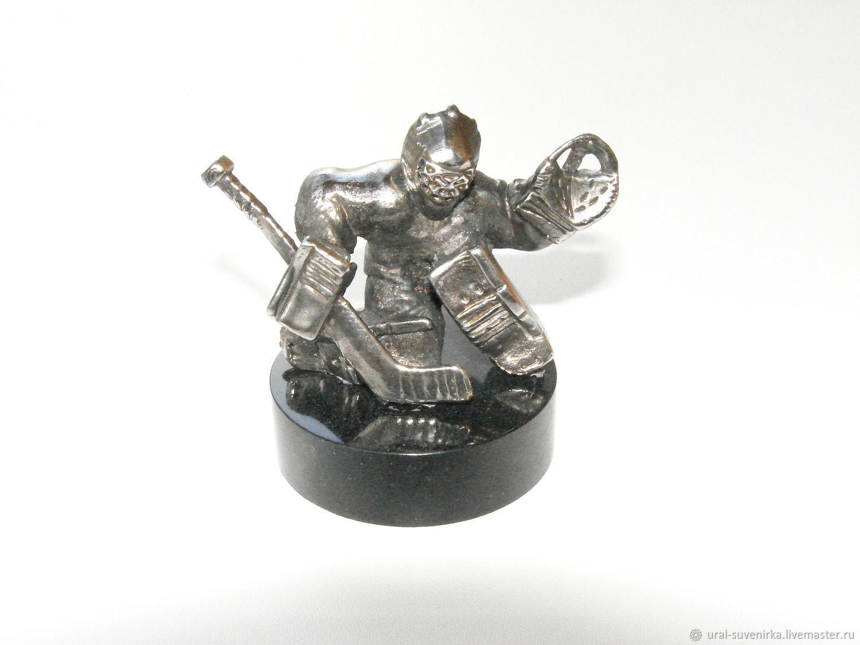 'Goalkeeper hockey on the puck', Model, Ekaterinburg,  Фото №1