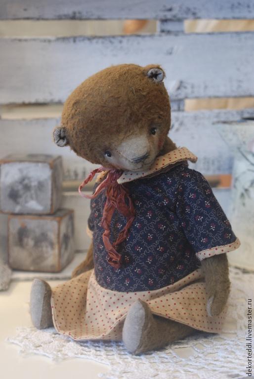 Мишки Тедди ручной работы. Ярмарка Мастеров - ручная работа. Купить мишка Маша. Handmade. Коричневый, ручная работа, хлопок