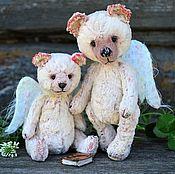 Мишки Тедди ручной работы. Ярмарка Мастеров - ручная работа Светлые Ангелы мишка Тедди. Handmade.