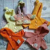 Куклы и игрушки ручной работы. Ярмарка Мастеров - ручная работа кофточки для   тедди 35. Handmade.