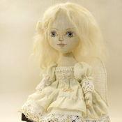 Куклы и игрушки ручной работы. Ярмарка Мастеров - ручная работа Ангелочек. Текстильная кукла. Handmade.
