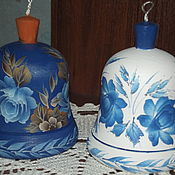 Сувениры и подарки handmade. Livemaster - original item Set of two bells. Handmade.