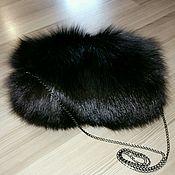 Муфты ручной работы. Ярмарка Мастеров - ручная работа Муфта-сумочка из меха лисы. Handmade.