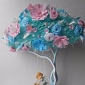 """Цветы и флористика ручной работы. Ярмарка Мастеров - ручная работа Топиарий """"Возвращение в детство"""" Дерево Счастья. Handmade."""