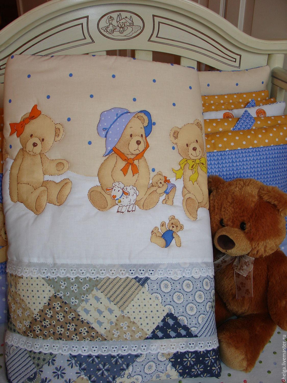 Детское одеяло своими руками. Как сшить детское одеяло для 14