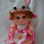 """Куклы и игрушки ручной работы. Ярмарка Мастеров - ручная работа Кукла-пупс вязаная """"Китти"""". Handmade."""