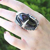 Украшения handmade. Livemaster - original item 925 Silver Amethyst Ring ALS0025. Handmade.