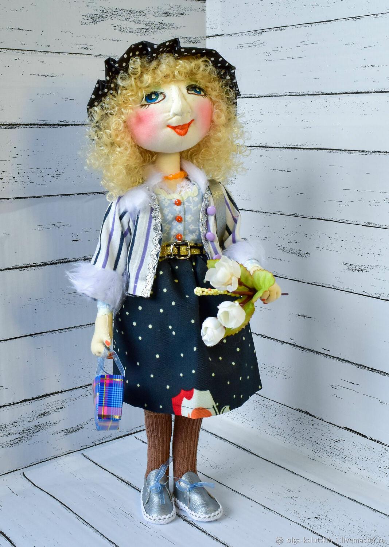 Текстильная кукла Тётя Мотя, Куклы и пупсы, Москва,  Фото №1