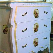 Для дома и интерьера ручной работы. Ярмарка Мастеров - ручная работа комод в стиле прованс. Handmade.