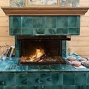 Для дома и интерьера handmade. Livemaster - original item Tile fireplace