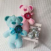 Куклы и игрушки ручной работы. Ярмарка Мастеров - ручная работа Брелок Мишка. Handmade.
