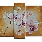"""Картины и панно ручной работы. Ярмарка Мастеров - ручная работа Картина маслом """"Орхидеи"""". Handmade."""