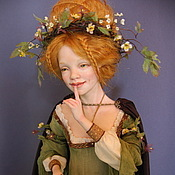 Куклы и игрушки ручной работы. Ярмарка Мастеров - ручная работа Крейдилад, кельтская богиня весны ПРОДАНА. Handmade.