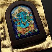 """Картины и панно ручной работы. Ярмарка Мастеров - ручная работа Панно """"ГАНЕША"""". Handmade."""