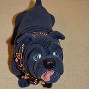 Куклы и игрушки handmade. Livemaster - original item Bulldog Hercule. Handmade.