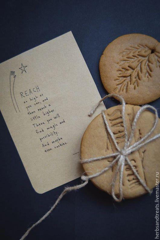 Кулинарные сувениры ручной работы. Ярмарка Мастеров - ручная работа. Купить Пряное печенье со штампом по индивидуальному дизайну. Handmade.