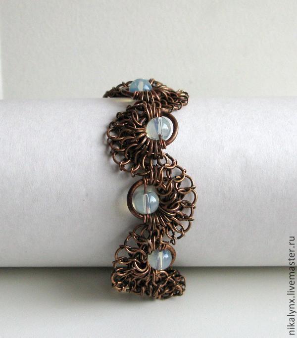 "Copper bracelet ""Coil"", Bead bracelet, St. Petersburg,  Фото №1"