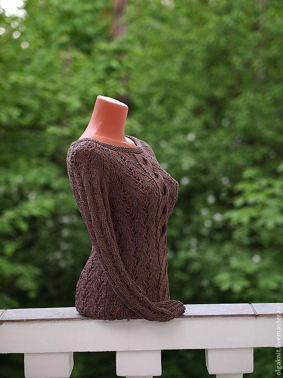 Пуловер из хлопка с доставкой