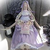 Куклы и игрушки ручной работы. Ярмарка Мастеров - ручная работа Прованс... Лавандовая фея V (ангел в стиле Тильда). Handmade.