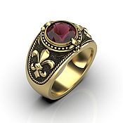 Украшения handmade. Livemaster - original item Caligula ring made of silver. Handmade.