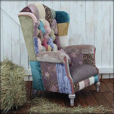 Для дома и интерьера ручной работы. Ярмарка Мастеров - ручная работа кресло шебби 3. Handmade.
