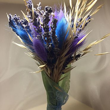 Цветы и флористика ручной работы. Ярмарка Мастеров - ручная работа Букет из сухоцветов « Прованс». Handmade.