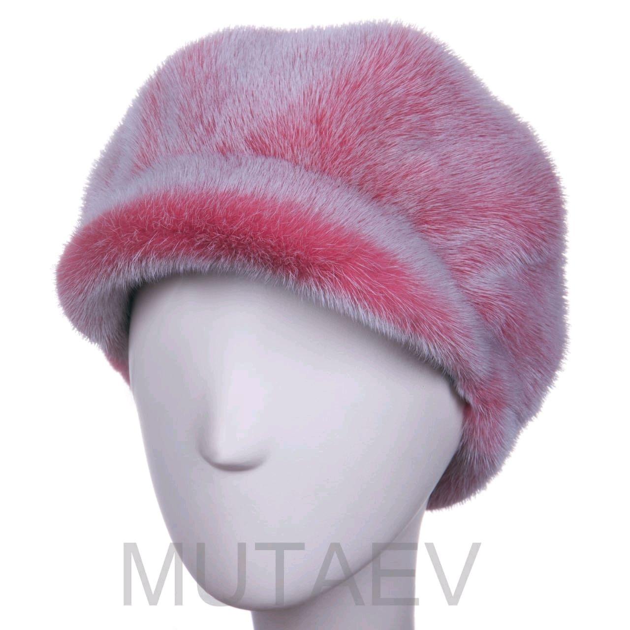 Women's mink fur cap, Caps, Moscow,  Фото №1