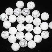 Материалы для творчества handmade. Livemaster - original item Cacholong, smooth bead, 12mm (natural stone). Handmade.