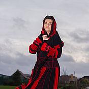 Одежда ручной работы. Ярмарка Мастеров - ручная работа Шерстяной свитер пальто. Handmade.