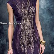 Одежда handmade. Livemaster - original item Felted dress, evening