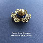 Украшения handmade. Livemaster - original item Little brooch with lazuli brooch - baby.. Handmade.