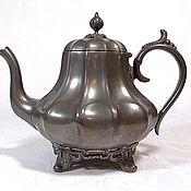 Чайники винтажные ручной работы. Ярмарка Мастеров - ручная работа Антикварный чайник/кофейник, PHILIP ASHBERRY & SONS, Англия, до 1900 г. Handmade.