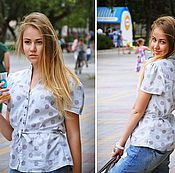 """Одежда ручной работы. Ярмарка Мастеров - ручная работа Блуза № 23 """"Ровенна"""". Handmade."""