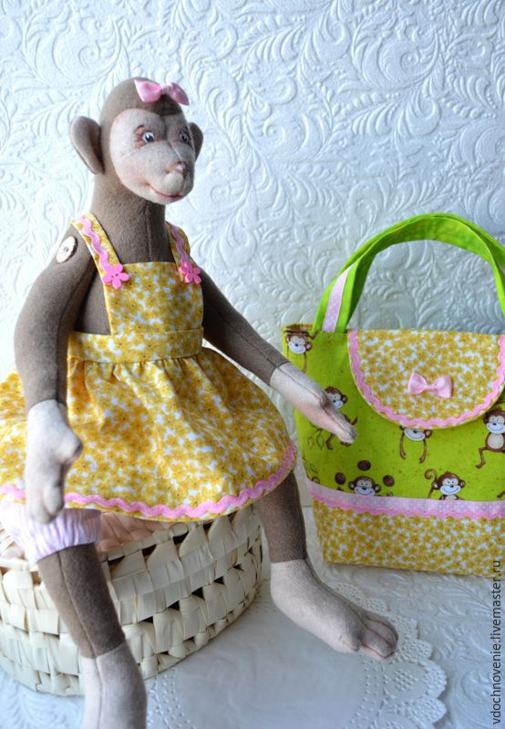 'Fun Monica' gift set for girls, Stuffed Toys, Kolomna,  Фото №1