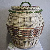 Для дома и интерьера handmade. Livemaster - original item The storage basket is