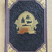 Сувениры и подарки handmade. Livemaster - original item Ships (leather book). Handmade.