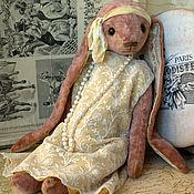 Куклы и игрушки ручной работы. Ярмарка Мастеров - ручная работа Зайка Эдит (Даунтон). Handmade.