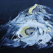 Pictures handmade. Livemaster - original item Snow & Clarity, Original Abstract. Handmade.