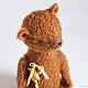 Мишки Тедди ручной работы. Ярмарка Мастеров - ручная работа. Купить Мишка цирковой. Handmade. Рыжий, тедди, мохер. Клетчатый Крокодил.